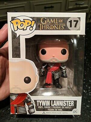 Funko POP Game of Thrones Tywin Lannister Silver Armor Variant #17 EXCELLENT!