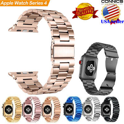 iWatch Series 4 44mm Stainless Steel Band Strap Bracelet for Apple Watch 3 42mm