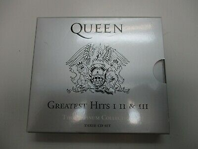 Queen- Greatest Hits I,Ii & Iii-The Platinum Collection- 3 Cd Set