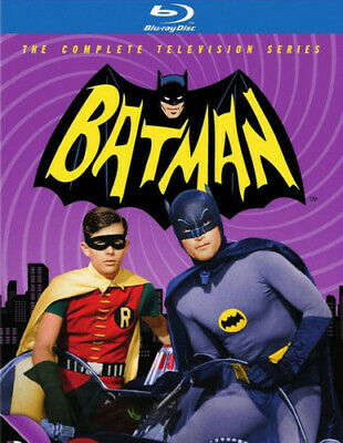 Batman: The Complete 1966 Television Series (13 Disc) BLU-RAY NEW