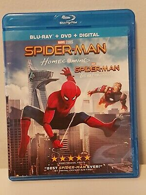 Spider-Man: Homecoming Blu-ray Disc, 2017, 2-Disc Set Canadian MCU Marvel