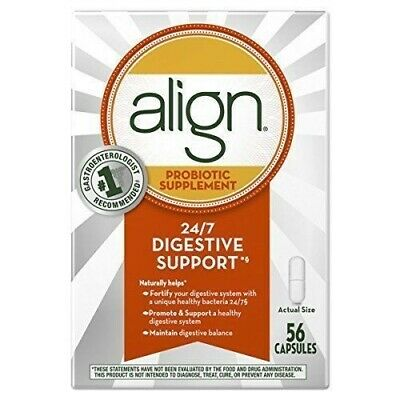 Align Probiotic Daily Supplement digestive - 56 capsules 037000939535