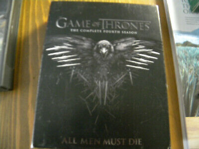 GAME OF THRONES: The Complete Fourth Season DVD 5-Disc Set