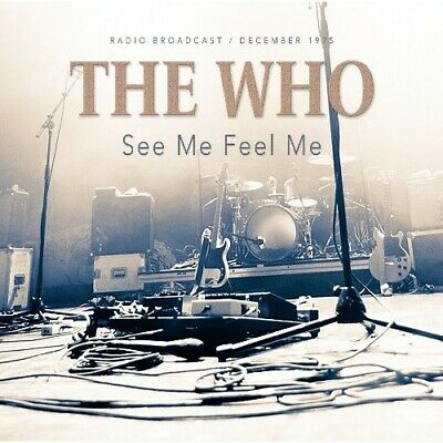 THE WHO -  LIVE 1975 PONTIAC CONCERT CD - Sealed