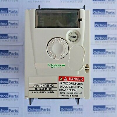 EuRa E800-0007S2 VFD variable speed drives 0.75KW//230V for light load drive