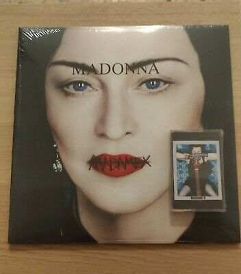 MADONNA MADAME X VINILE + CASSSETTE BUNDLE both sealed