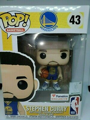 Funko Pop! Stephen Curry Golden State Warriors Fanatics Exclusive