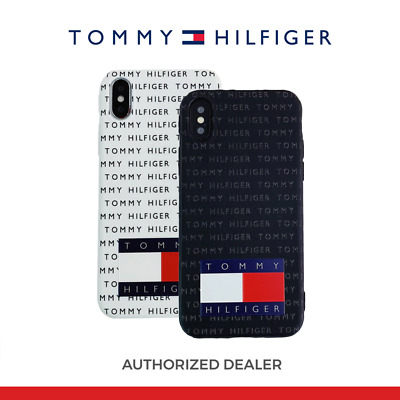 new concept f7ac4 39265 TOMMY HILFIGER IPHONE Soft Case Cover for iPhone X XS MAX XR 8 7 6s ...