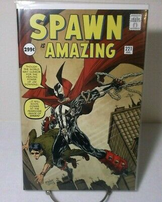 Spawn is Amazing #221 Image Homage Cover 2012