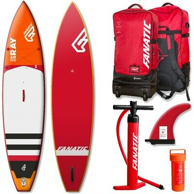 FANATIC RAY 140 windsurfing board and Fantic Flow H9 foil