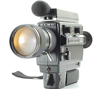 [ Excellent +5 ] ELMO SUPER 8 SOUND 1050S MACRO 8mm Movie Camera from JAPAN