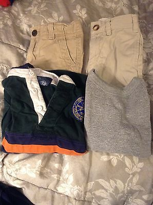 7 Piece Lot Polo Ralph Lauren Tommy Hilfiger Baby Gap Old Navy Size 4T