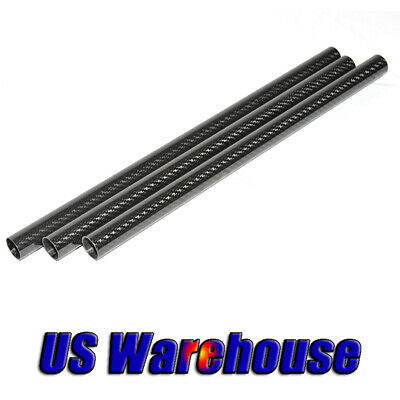 10mm Carbon Fiber Tube OD 10MM X ID 6MM 8MM 9MM x 500mm 3K Roll Wrapped Shaft