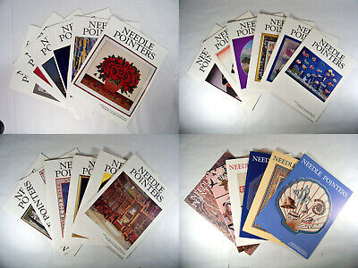 Needle Pointers Magazine 1992 1993 1994 1995 Full Year of Each 24 Issues Total