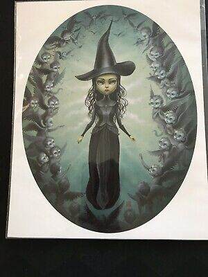 MabGraves LE Signed, Numbered, 8x10 New, Elphaba Flying Monkeys 64/150 Edition