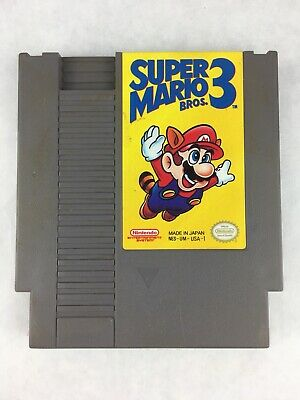 Super Mario Bros 3 NES Nintendo Entertainment System Video Game Cartridge Only