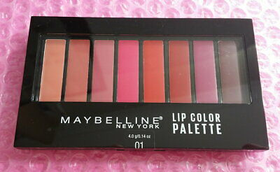 Maybelline Lip Color Palette, Shade 01 - FREE SHIPPING