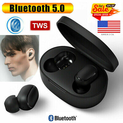 2019 New TWS Airdots Headset Bluetooth 5.0 Earphone Headphone Stereo Earbuds!!!