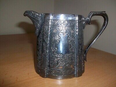 Silver plated Milk Jug by JH Potter c1920's
