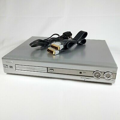 Philips DVDR70 | DVD Player & Recorder | RW Playback | VideoPlus+ | SCART Lead