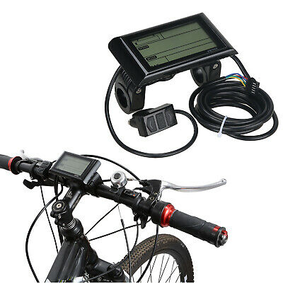 48V Voilamart Electric Bicycle LCD Meter Panel Display Bike Conversion Cycling