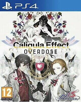 The Caligula Effects Overdose (PS4)  NEW AND SEALED - PAL UK FREE UK DELIVERY