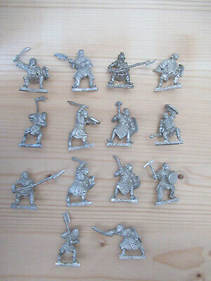 Games Workshop Citadel Lord of the Rings Lotr Mordor Orc Warriors Metal