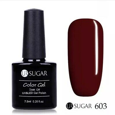 Esmalte Permanente UR SUGAR GEL POLISH Rioja Oferta Color Red Vine 7,5ml