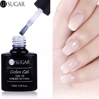 Esmalte Permanente UR SUGAR GEL POLISH SOAK OFF Opal Jelly Camuflaje 7,5ml