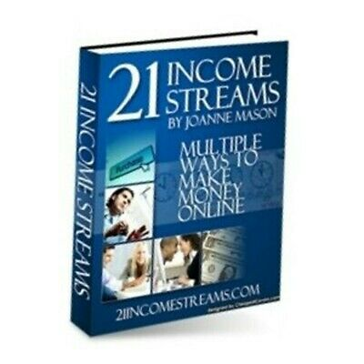 21 Income Streams PDF eBook With Master Resell Rights MRR | INSTANT DELIVERY