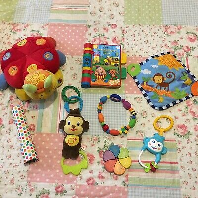 Baby Toy Bundle, Colourful Soft Baby Toddler Toys #3
