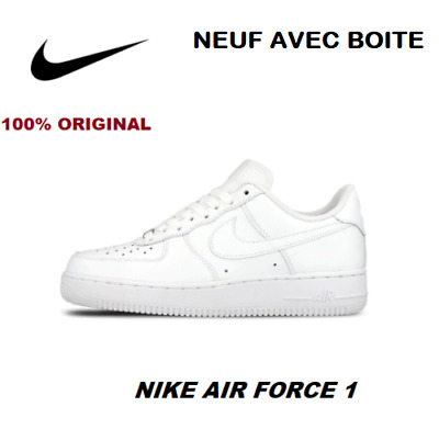 Baskets 1 De Exclusif Chaussures Nike Force Homme Sport Cuir Air dCBQroexW