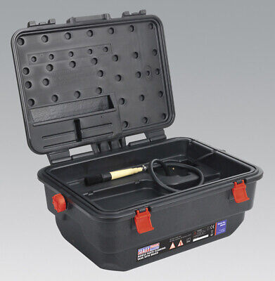 Genuine SEALEY SM222 | Mobile Parts Cleaning Tank with Brush