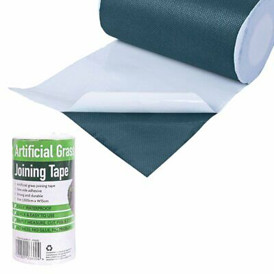 5m x 15cm Self Adhesive Joining Artificial Grass Astro Turf Tape Fake Lawn Joint