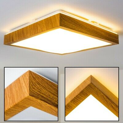 LED ceiling spot lighting IP 44 wood decor bathroom lamp 18W flush light 150803