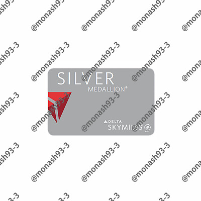 INSTANT UPGRADE Delta Airlines SILVER Membership Skyteam Elite to 01/21