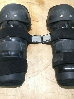 Shift Motocross Enduro Trail Trial Knee Guards Used Adult Size