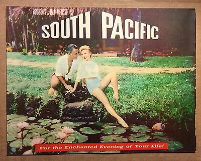 1958 SOUTH PACIFIC programme - 24 pages