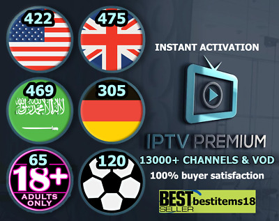 IPTV PORTUGAL PORTUGUESE + VOD -24hour Test -SmartTV-Enigma2