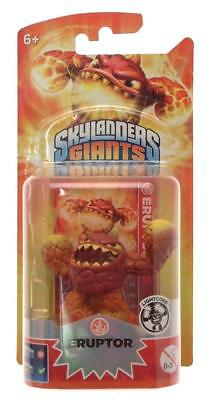 Skylanders Giants Lightcore Single Toy Figure ERUPTOR PS3 Xbox Wii 3DS NEW