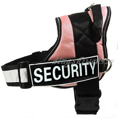 Reflective SERVICE DOG Vest Harness label Patches IN TRAINING THERAPY DOG