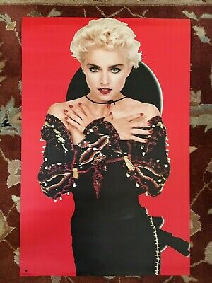 MADONNA  You Can Dance  rare original 2-sided promotional poster from 1990