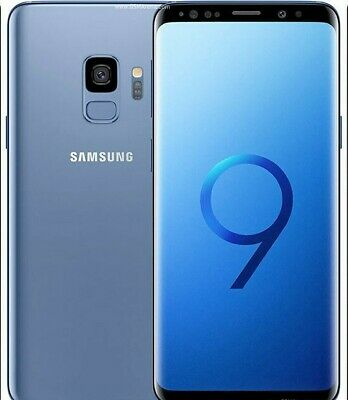 Samsung Galaxy S9 SM-G960-64GB-Lilac Purple/Coral Blue/Midnight Black Unlocked