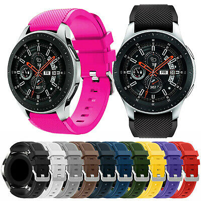 Silicone Sport Strap Band Replacement for Samsung Galaxy Watch 46mm Bracelet