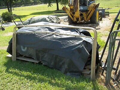 MILITARY SURPLUS HMMWV M998 Troop Seats Truck Cargo Cover With Bows