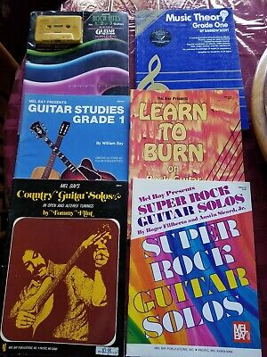 Collection Of 6 Guitar Instruction Books