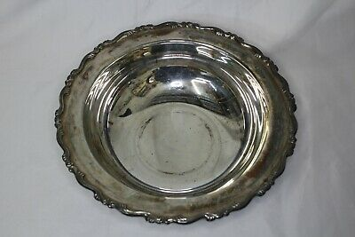 Vintage Oneida Silver plated Footed Serving Bowl
