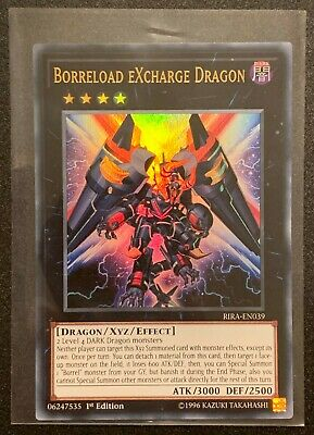 Yugioh: Borreload Excharge Dragon RIRA-EN039 - Ultra Rare