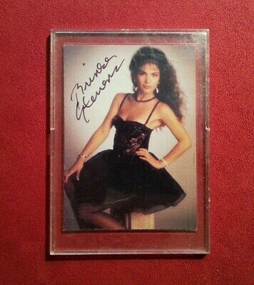 Brinke Stevens Autograph Trading Card Scream Queens Case Horror Gift Present