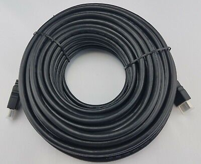 PREMIUM HDMI CABLE 50Ft 1.4 1080P BLURAY 3D TV DVD PS4 XBOX LCD LED ETHERNET 4K